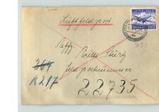 LUFTFELD POST, Deutsches Reich stamp on cover