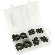 NEW 10 X Electrical Rubber Grommet Pack 35 Piece FreePost.UK Seller