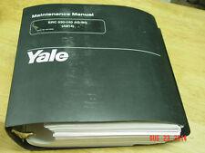 YALE ERC 030-040 AG/BC MAINTENANCE MANUAL (A814) OEM LQQK