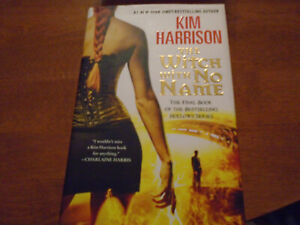 Hollows Ser.: The Witch with No Name Signed by Kim Harrison (2014, HC 1st/1st)