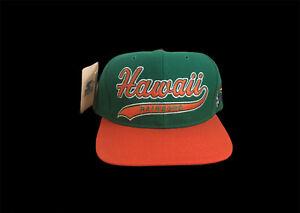 NWT Vintage University Of Hawaii Starter Hat Snapback Script Sports Specialties