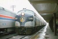 B&O BALTIMORE AND OHIO Railroad AMTRAK Locomotive 1457 Original 1974 Photo Slide