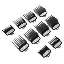 10PCS/Set Professional Cutting Hair Clipper Premium Guides Combs Guards for Wahl