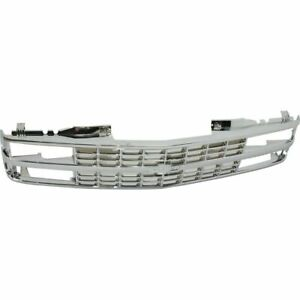 New GM1200578 Grille Assembly Plastic For Chevrolet Blazer 1992-1993