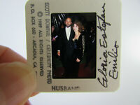 Original Press Photo Slide Negative - Gloria Estefan & Emilio Estefan - 1989 - A