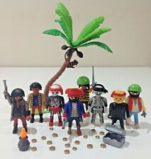 Playmobil Pirates Figures Bundle with Accessories