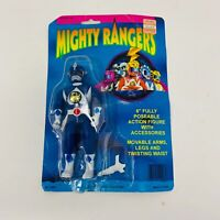 1994 Mighty Rangers KNOCKOFF Mighty Morphin Power Rangers Blue Figure Bandai