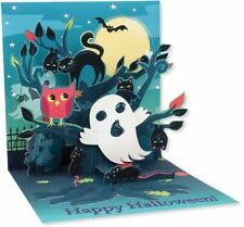 Up with Paper Pop Up Greeting Card - Haunted Tree