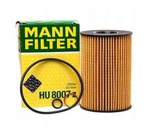 Engine Oil Filter Mann HU8007z For BMW F01 F02 F06 F07 F10 F13 F15 F16 G12 E70
