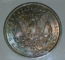 1886 NGC MS63 Silver Morgan Dollar Fitzgerald Nevada Club Reno Hoard $1 Rainbow