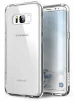 Galaxy S8 Case Scratch Resistant i-Blason [HALO] Clear Hybrid Bumper Case Cover