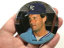 1980's Kansas City Royals George Brett PInback Button Pin vintage