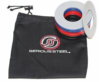 Serious Steel Fitness Fractional Plates (W/ Bag) | Microloading Steel Plates