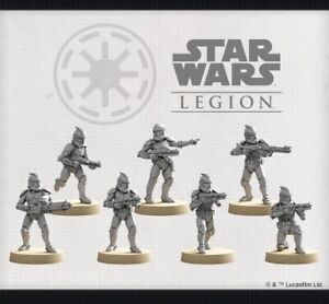 star wars legion clone wars Phase 1 Clone Troopers With Cards And Unit Token