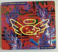 U2 Stay Cd-Single UK 1993 caja digipack desplegable #1