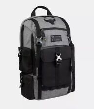 New Under Armour Project Rock Bag Gray UA Regiment Backpack Grey Chase Greatness