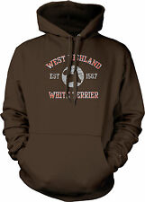 West Highland White Terrier EST 1567 Dog Lovers Pure Bred Puppy Mens Sweatshirt