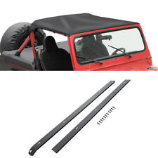 1976-86 Jeep CJ7 Strapless Bikini Top Kit with Windshield Channels