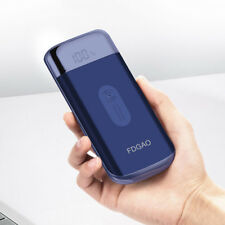 Fdgao 10000mah Power Bank Qi Wireless Charger Battery for Samsung S9 iPhone X XS