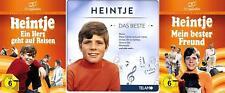 HEINTJE Heimatfilm Klassiker EIN HERZ GEHT AUF REISEN + bester Freund DVD CD Box