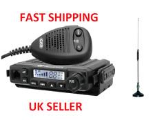 CRT Millenium V3 + Moonraker Mini Aerial Antenna AM FM CB Radio UK40