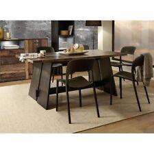 Esszimmertisch Küchentisch Speisezimmertisch Schwarz / Eiche Nb. 140 x 90 cm