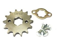 NEW #428 CHAIN FRONT PINION SPROCKET WITH 14 TEETH FOR ATV, DIRT BIKE, GO KARTS