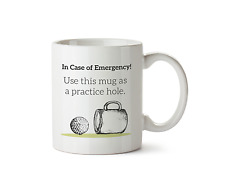 Use This Mug as a Practice Hole Golf Coffee Fathers Day Cup Sport Tea 10oz Gift