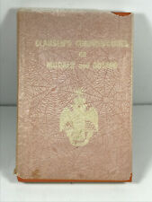 1985 Clausen's Commentaries & Morals Dogma Masonic Odd Fellows HC book CLEAN