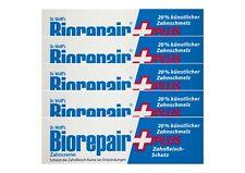 5x BioRepair plus Zahncreme 75ml Zahnfleisch-Schutz Zahnpasta Dr. Wolff`s