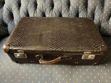 Vintage Alligator Suitcase