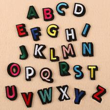 26 Embroidery Alphabet Letters Sew Iron On Patch Badge Bag Cap Jeans Applique