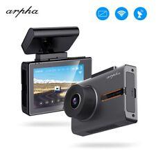 "Arpha W02 1080P 3""Car Dashcam OLED Touch Screen DVR Camera WiFi GPS Night Vision"