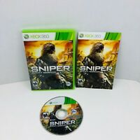 Sniper Ghost Warrior Microsoft Xbox 360 Video Game Complete With Manual