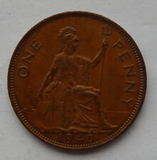 """1940 UK / Great Britain One Penny Coin KM#845 """"Higher Grade Coin""""    SB5119"""