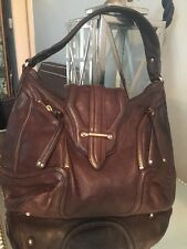 Botkier 'Cairo' Women's Brown Leather Large Hobo Handbag Shoulder bag Purse