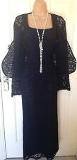 Dress And Jacket Suit DEBUT Maxi Size 10 Spec Occasion wedding guest cruise