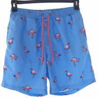 Club Room Swim Trunks Men's S Flamingo Print Quick Dry Performance Shorts New
