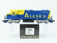O Gauge 3-Rail K-Line K2402-2001 ARR Alaska GP38-2 Diesel Loco #2001 w/TMCC