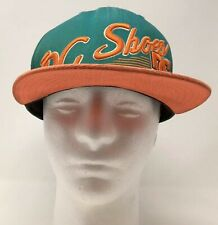 New Era DC Shoes CO USA Baseball Cap Hat 9Fifty Green Orange OSFM Snap Back