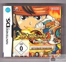 ★ Nintendo DS Spiel - INAZUMA ELEVEN 2: FEUERSTURM - Komplett in Hülle OVP ★