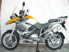 BMW R 1200 GS HP2 04-09 QD exhaust Slip-On muffler link pipe & alluminium motogp
