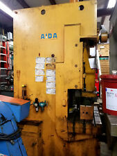 "Aida Gap Frame Punch Press 75 Ton Model PP-XGC-75U 6.3"" Stroke Sanson Northwest"