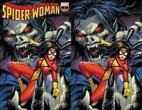 Spider-Woman #1 - Tyler Kirkham Trade & Virgin Covers