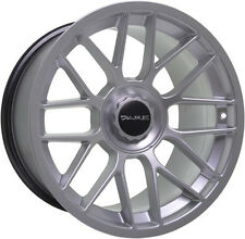 "Alloy Wheels 17"" Dare DR-C Hyper Silver For BMW 8 Series [E31] 90-99"