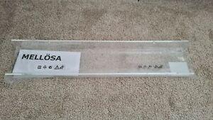 Ikea Mellosa clear shelf - NEW