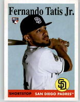 2019 Topps Archives Fernando Tatis Jr. 1958 Style Base Rookie Card #75 Padres RC