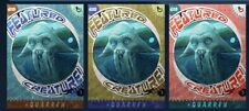 topps star wars card trader QUARREN GOLD RED BLUE FEATURED CREATURES
