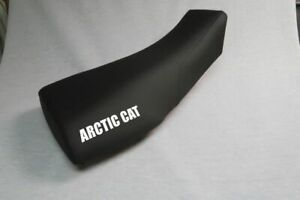 Arctic Cat 250 300 Seat Cover 1999 To 2001 Black Color Arctic Cat Logo