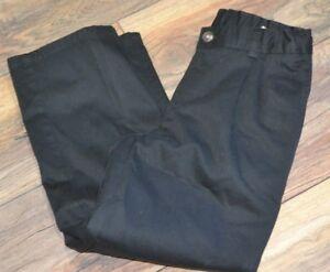 Chaps Boys Approved Schoolwear Size 14 Regular Black Pants Uniform Pant